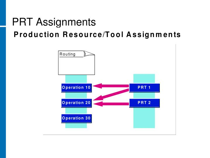 PRT Assignments