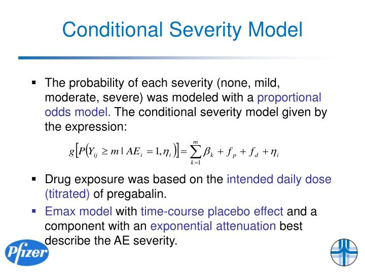 Conditional Severity Model