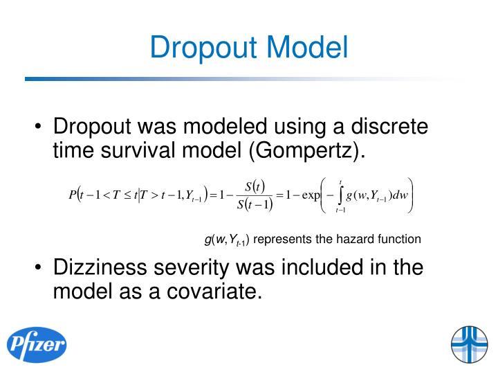 Dropout Model