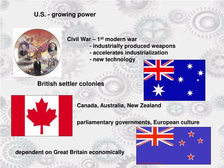 U.S. - growing power