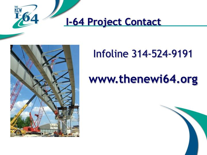 I-64 Project Contact