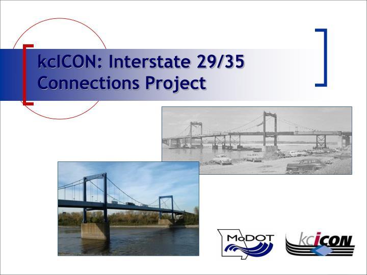 kcICON: Interstate 29/35