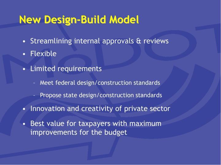 New Design-Build Model