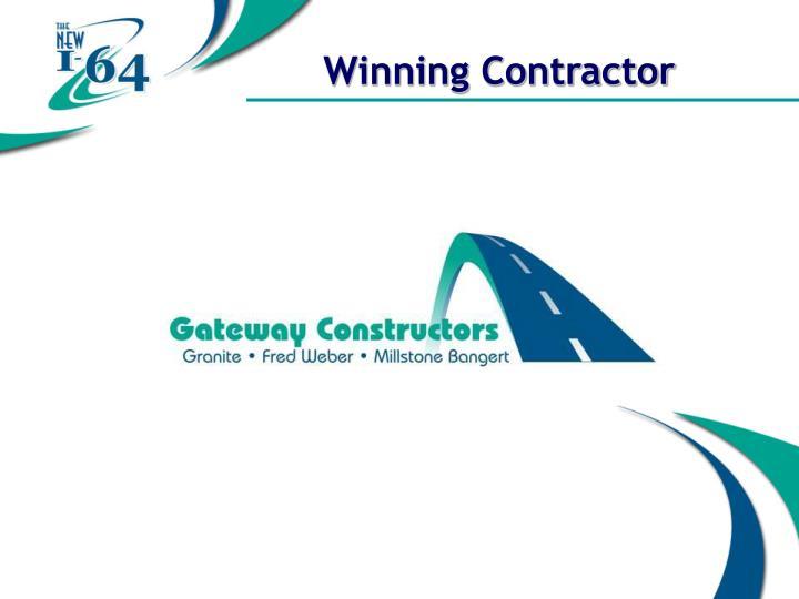 Winning Contractor