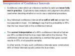 interpretation of confidence intervals