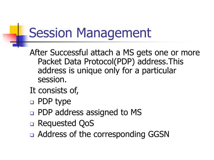 Session Management