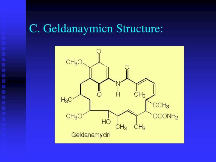 C. Geldanaymicn Structure: