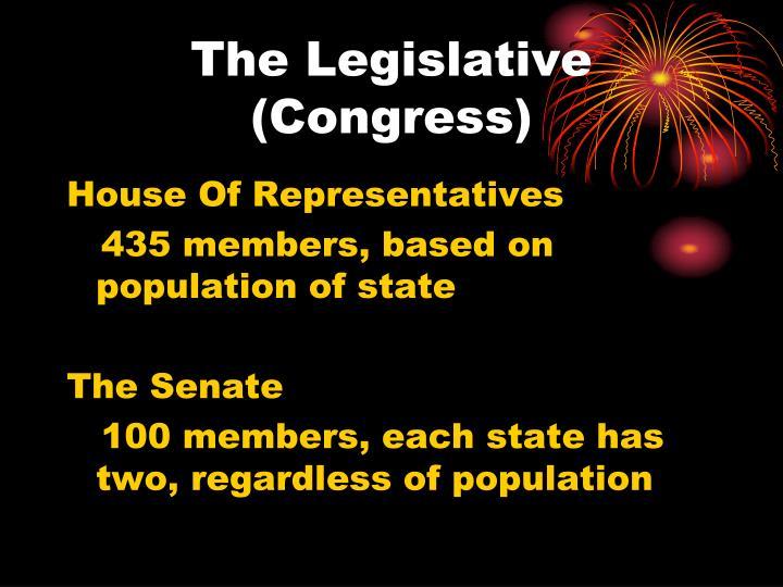 The Legislative (Congress)