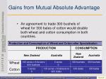 gains from mutual absolute advantage2