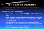 ifr planning standards7