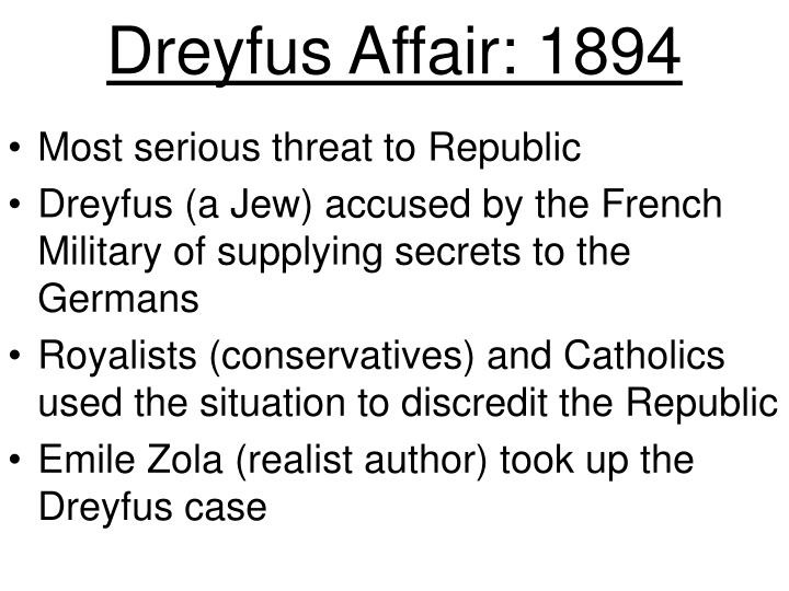 Dreyfus Affair: 1894