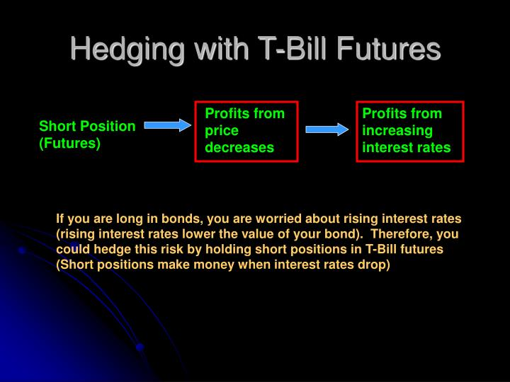 Hedging with T-Bill Futures