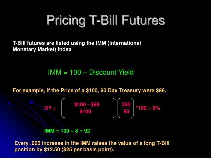 Pricing T-Bill Futures