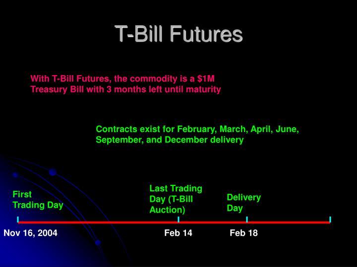 T-Bill Futures