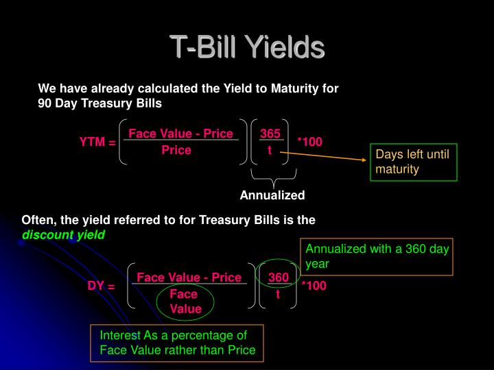 T-Bill Yields