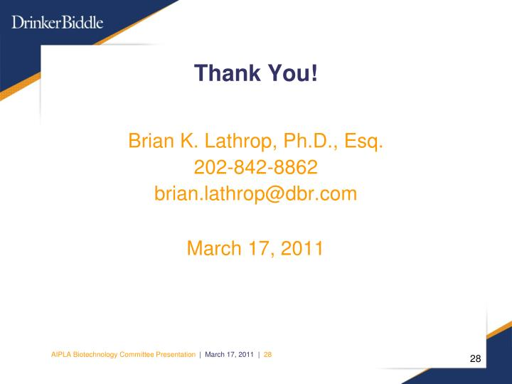 Brian K. Lathrop, Ph.D., Esq.