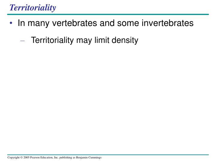 Territoriality