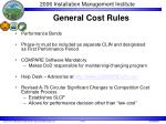 general cost rules2