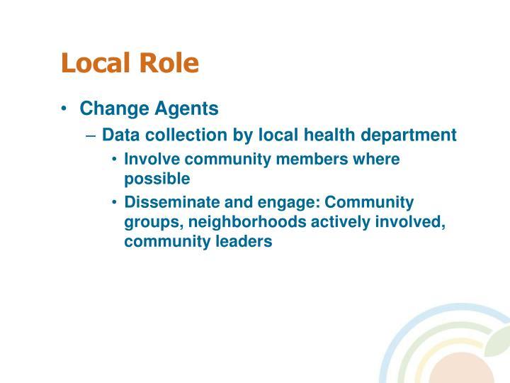 Local Role