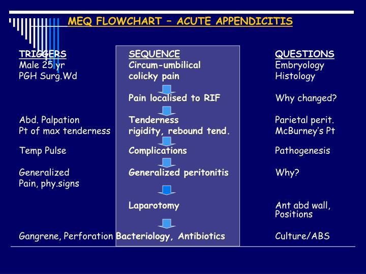 MEQ FLOWCHART