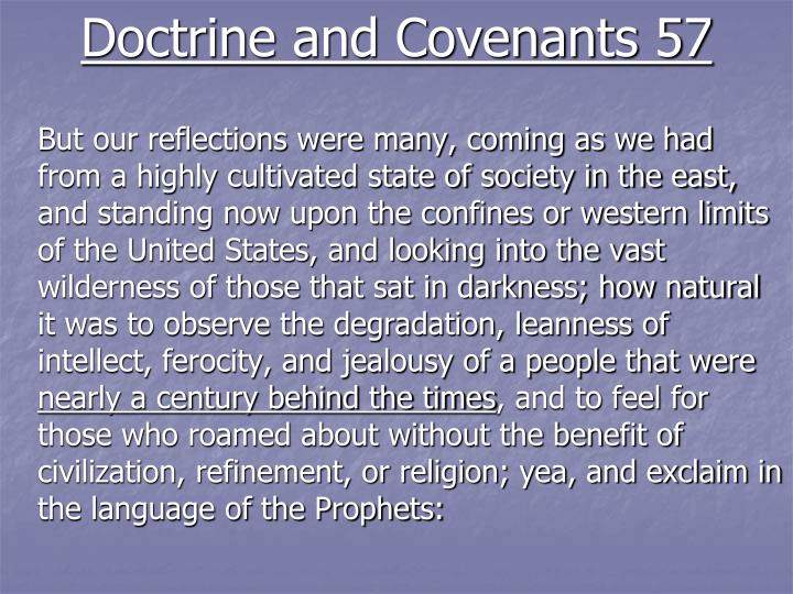Doctrine and Covenants 57