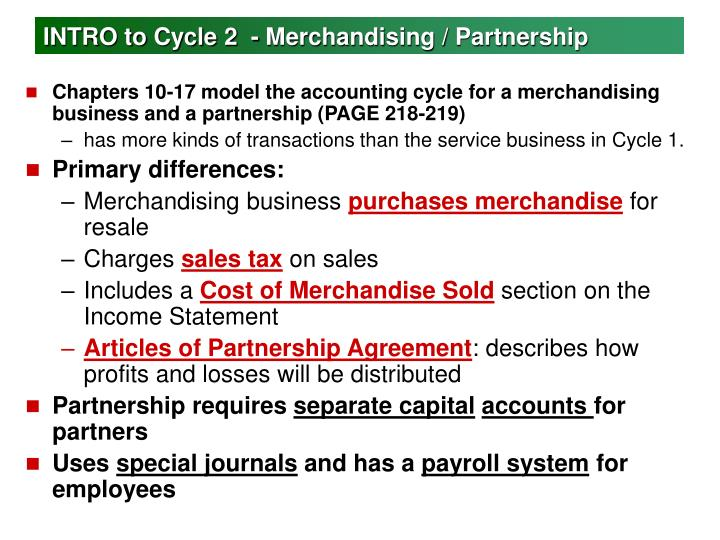 intro to cycle 2 merchandising partnership n.