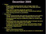 december 20091
