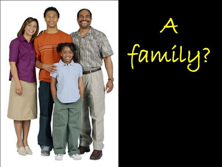A family?