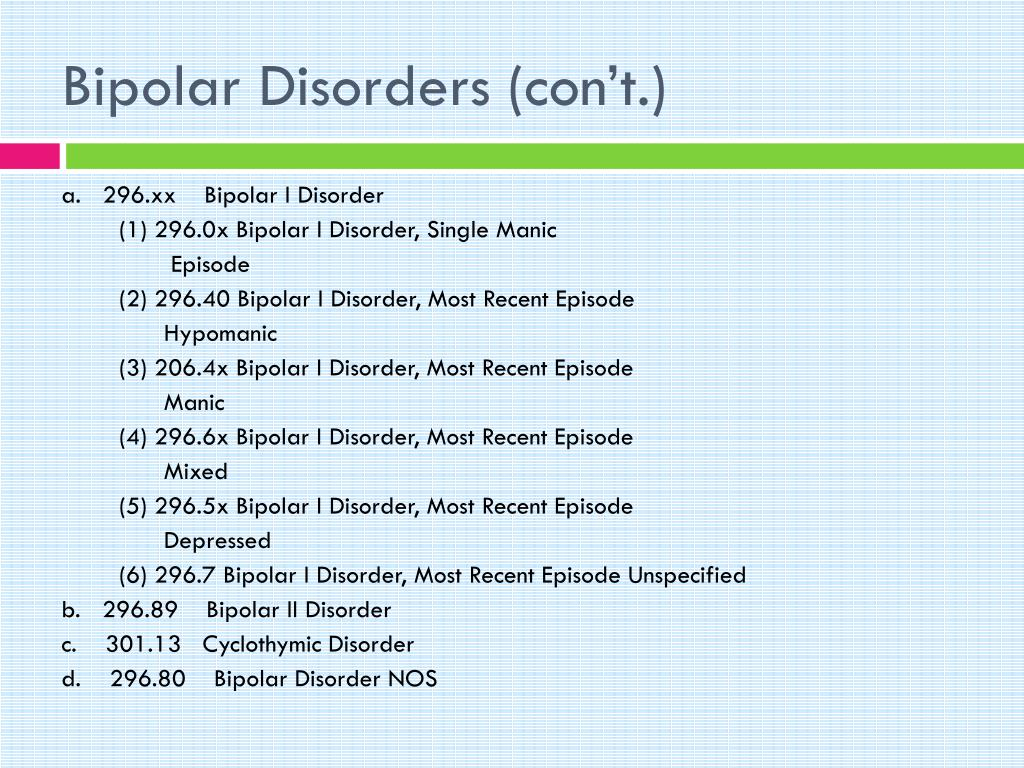 PPT - Mood Disorders PowerPoint Presentation - ID:6600817