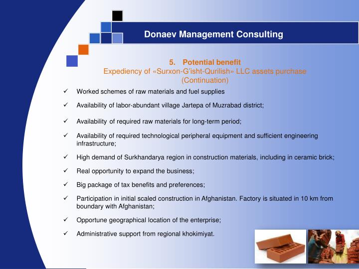 Donaev Management Consulting
