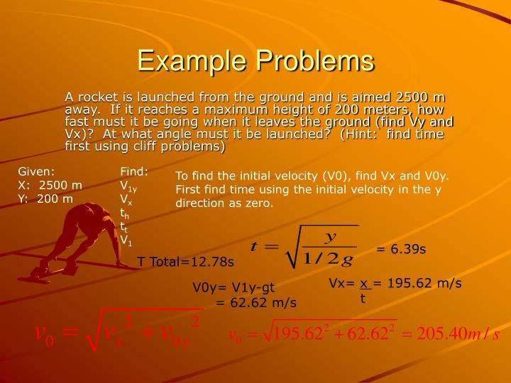 Example Problems