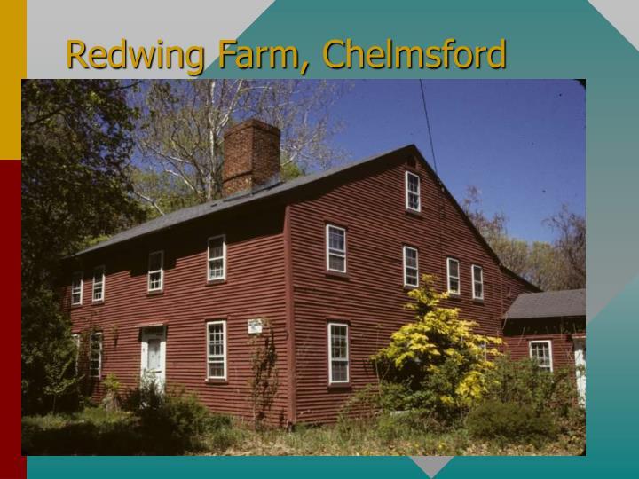 Redwing Farm, Chelmsford