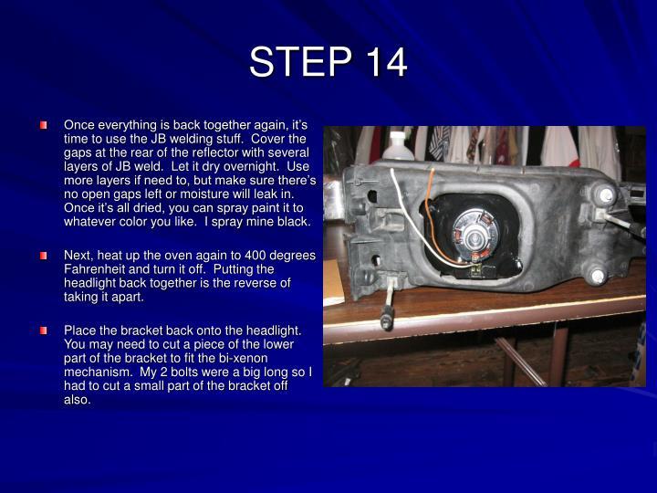 STEP 14
