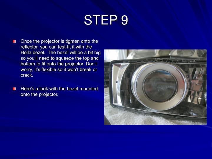 STEP 9