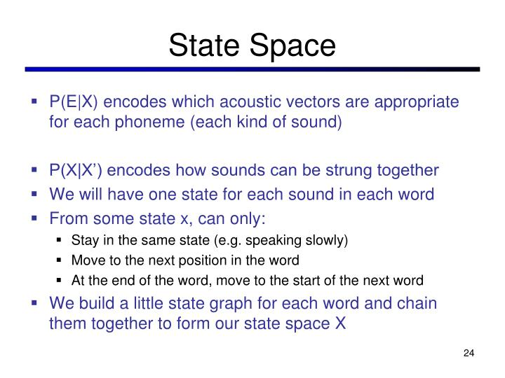 State Space