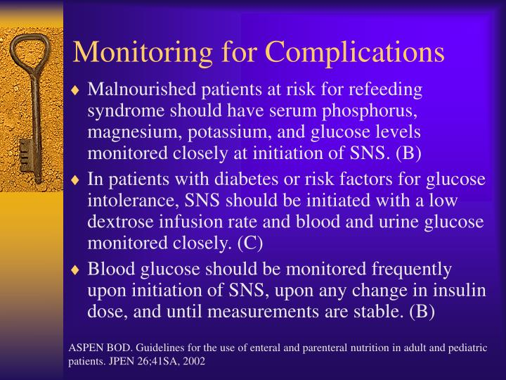 Monitoring for Complications