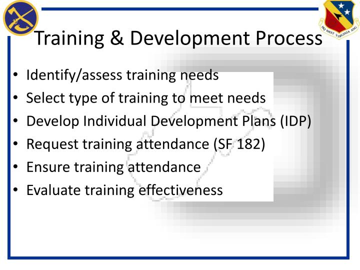 Training & Development Process