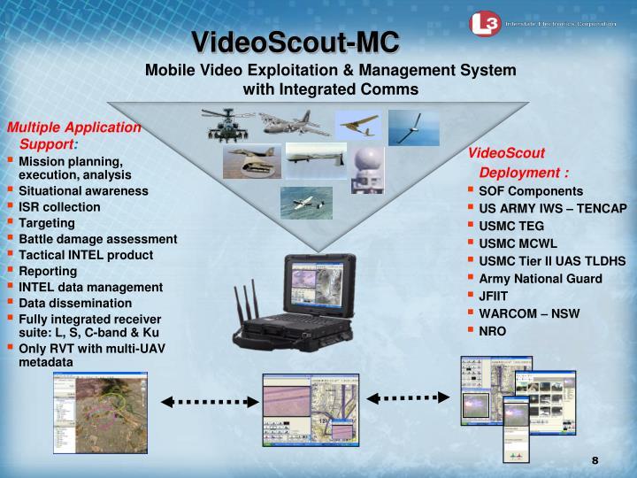VideoScout-MC