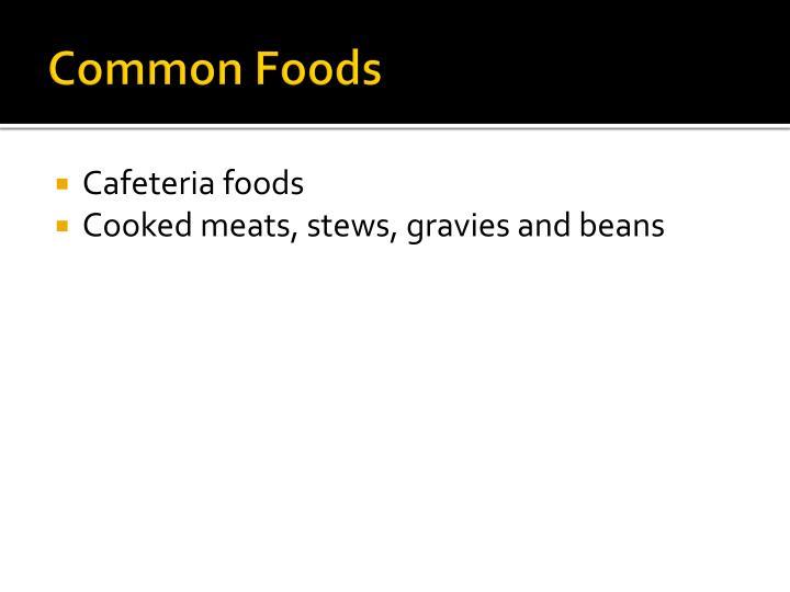 Common Foods