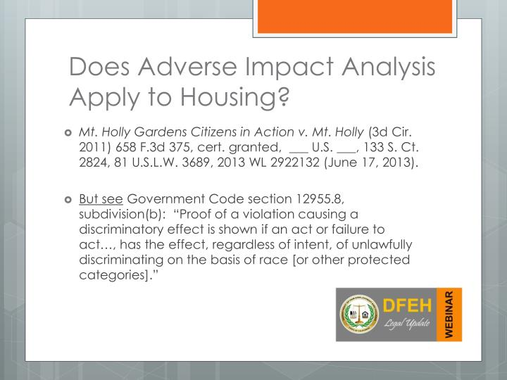 Does Adverse