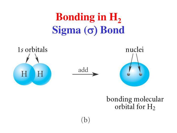 Bonding in H