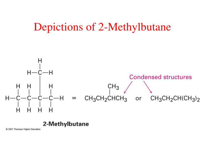 Depictions of 2-Methylbutane