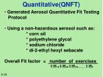 quantitative qnft