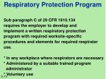 respiratory protection program1