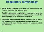 respiratory terminology1