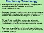 respiratory terminology2
