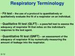 respiratory terminology3