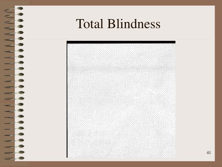 Total Blindness