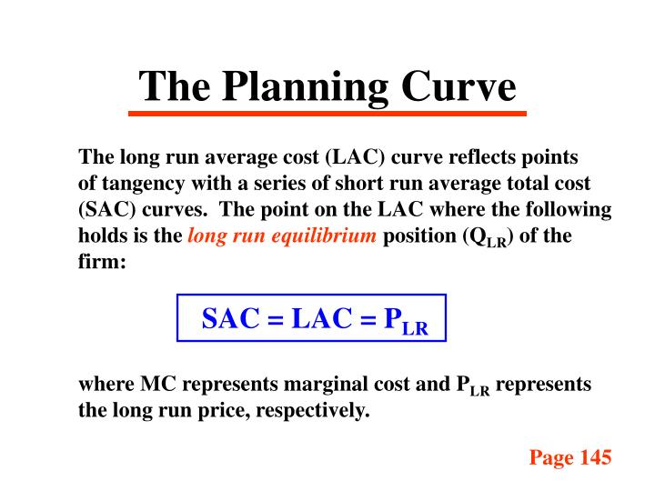The Planning Curve