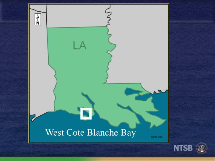 West Cote Blanche Bay